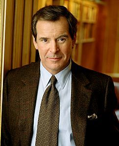 Peter Jennings (1938 - 2005).....NEWS JOURNALIST.  Peter was the one we watched every night.  As to his current downfall...well, all I know is that I liked him then and I still do.