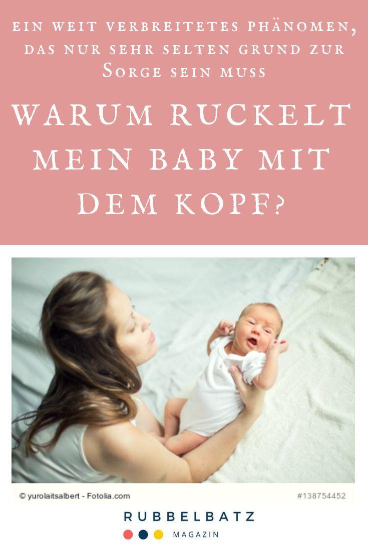 Baby Wackelt Mit Kopf Hin Und Her