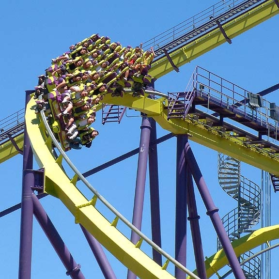 Medusa at Six Flags Discovery Kingdom in Vallejo, California i went here on this ride and its my favorite ride there