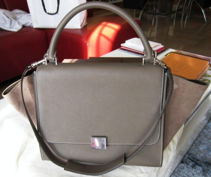 Celine Trapeze Small Souris | Bags! | Pinterest | Celine