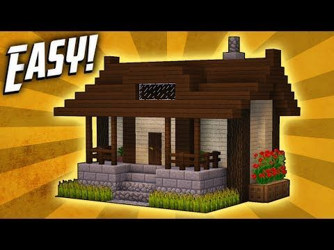 Minecraft: How To Build A Small Survival House Tutorial (#5) - Minecraft Servers View