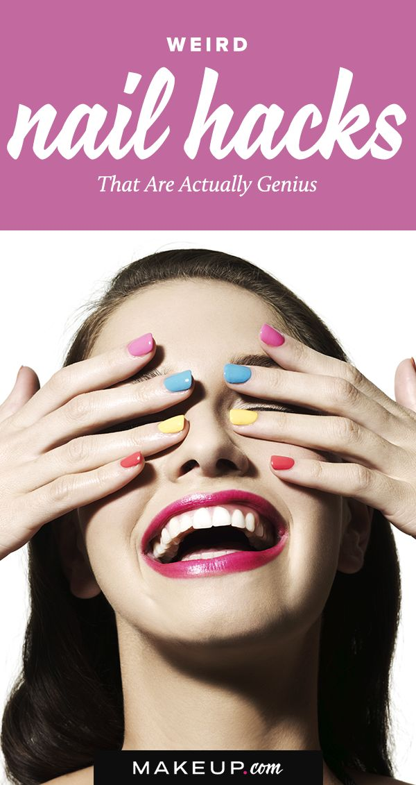 If you love to do your nail art, designs and manicures at home, be sure to follow this simple guide full of helpful nail hacks.
