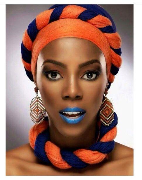 Attaché foulard aso Oke gélé turban maré têt ~African fashion, Ankara, Kente, kitenge, African women dresses, African prints, African men's fashion, Nigerian style, Ghanaian fashion ~DKK