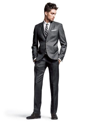 Shorter Suit Jacket
