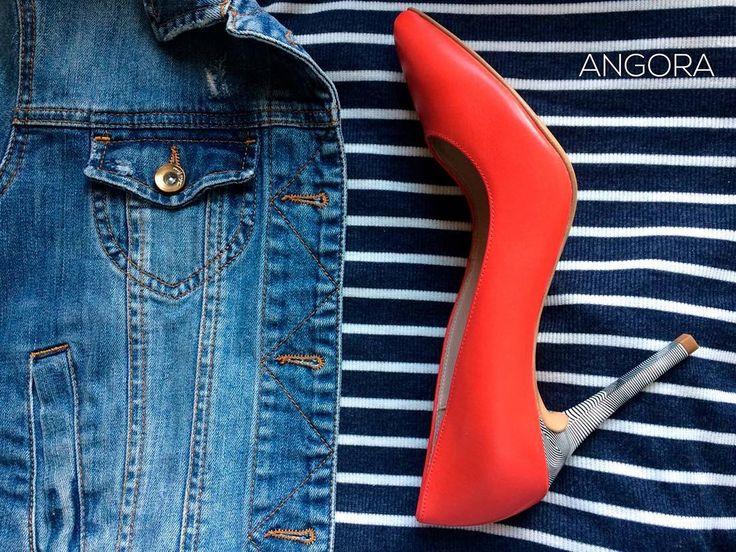 ❗ ЦЕНА СНИЖЕНА - 20%❗ Такие цветные туфли необходимы для того, чтобы разбавлять Ваш гардероб, раставлять новые цветовые акценты в образах! �� Фирма - Ryłko  Производитель - Польша ���� В наличии ✅  #fashion#angora#grodno#women#shoes#sale#collection http://www.butimag.com/fashion/post/1482011426104538556_4933381966/?code=BSRKYo-B_W8