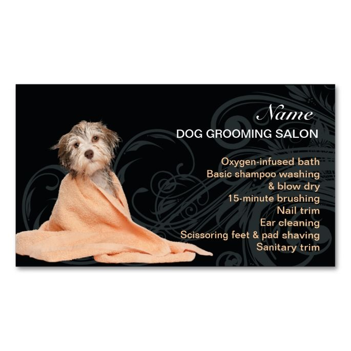 2185 best animal pet care business card templates images on dog grooming salon business card reheart Choice Image