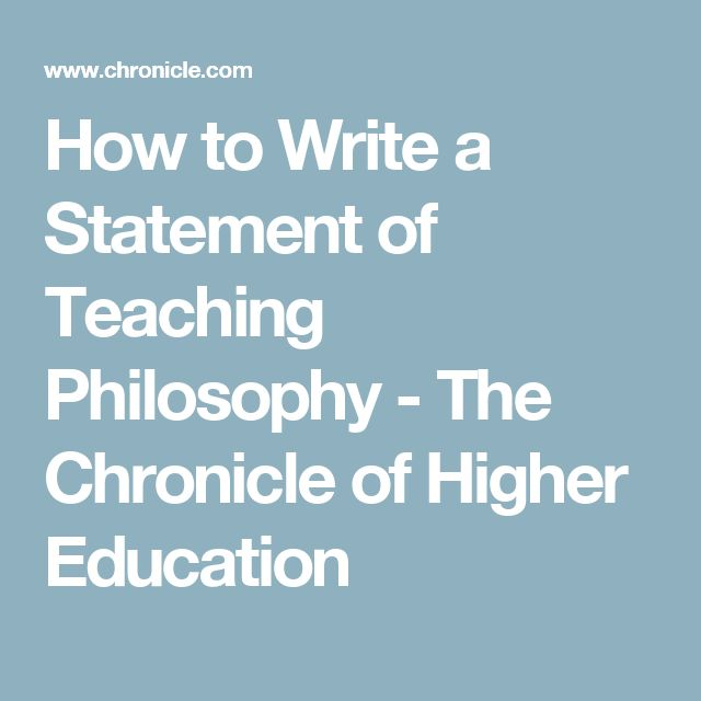 special education philosophy statement For the personal philosophy of education statement definitions a statement of personal philosophy of education is a reflective piece, generally 1-2 pages long that summarizes your core educational beliefs (your core beliefs about the purpose, process, nature, and ideals of education.