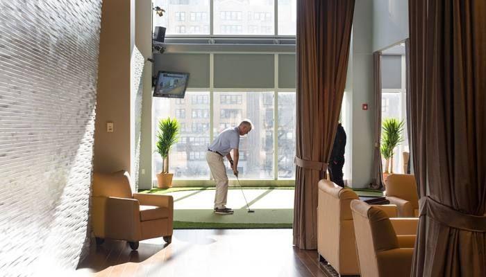 Il Nuovo Golf Club High-Tech di Manhattan