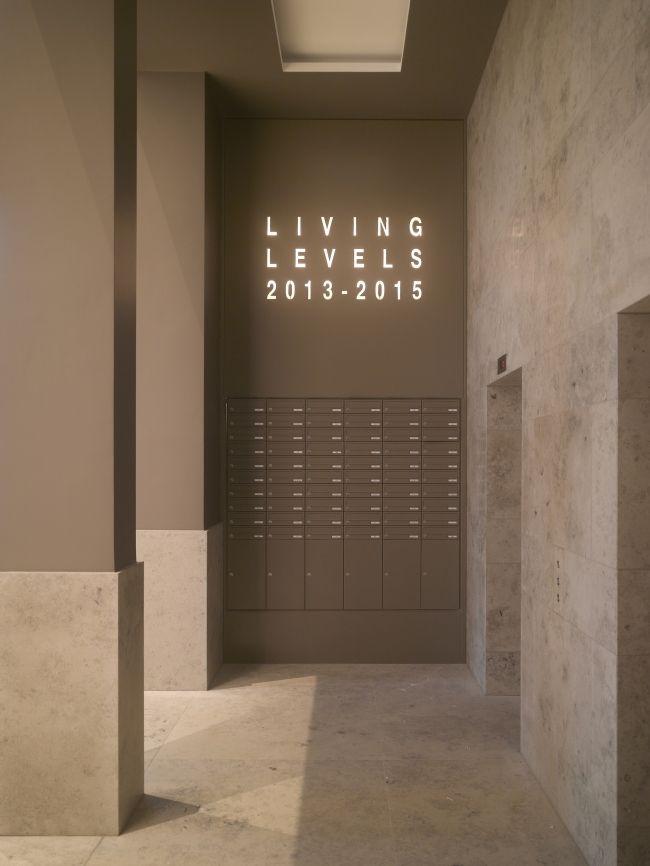 Жилой дом Living Levels – East Side Tower. Фотография © Roland Halbe