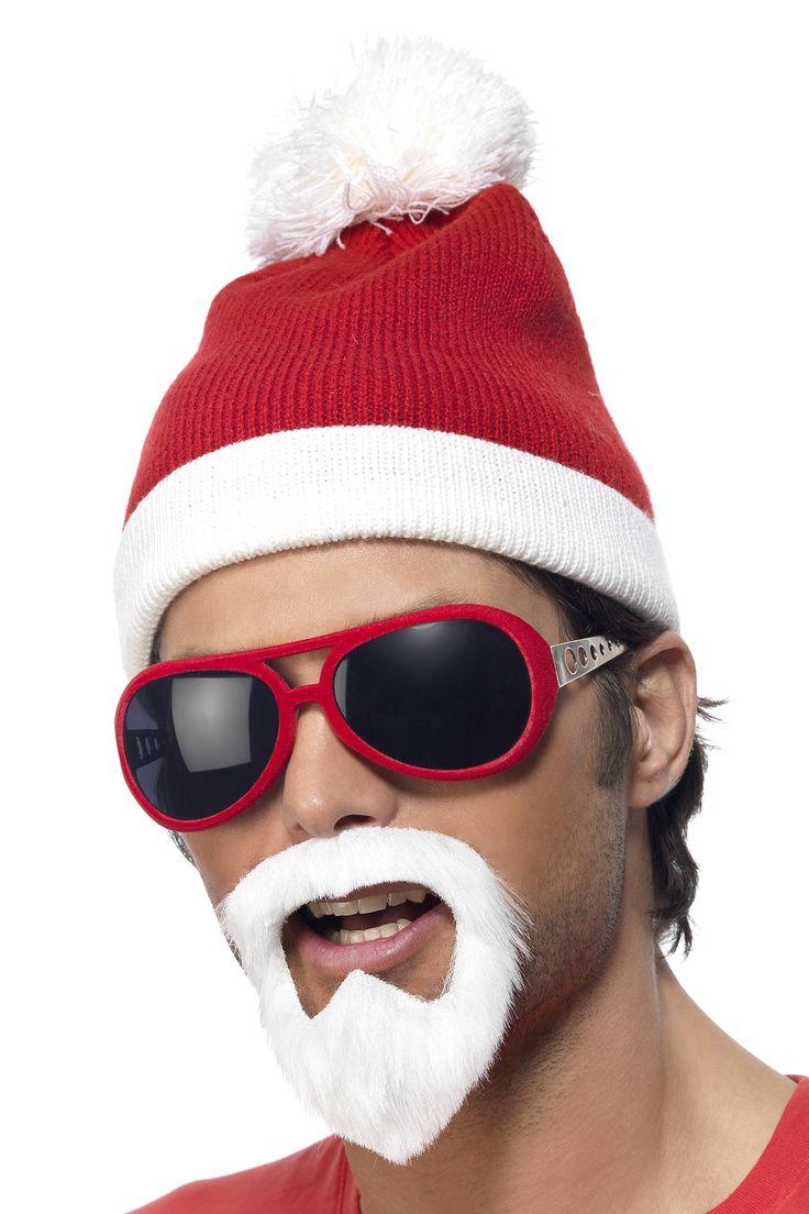 Kit Père Noël adulte #IdeeCadeau #CadeauDeNoel #Noel2016 #NoelDecale #ChapeauDeNoel #JoyeuxNoel