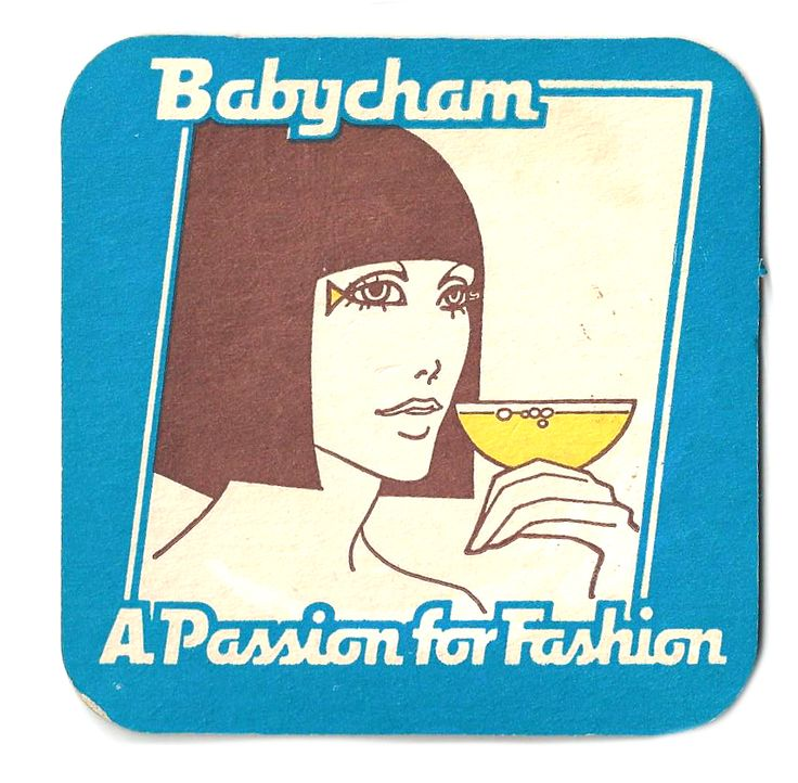 Babycham Vintage beer mat