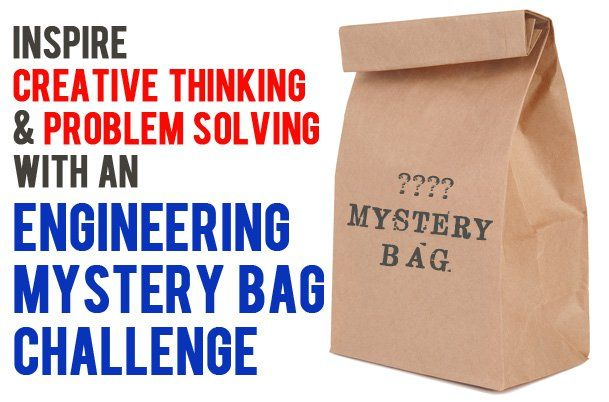 Mystery Bag Engineering Challenges for Kids
