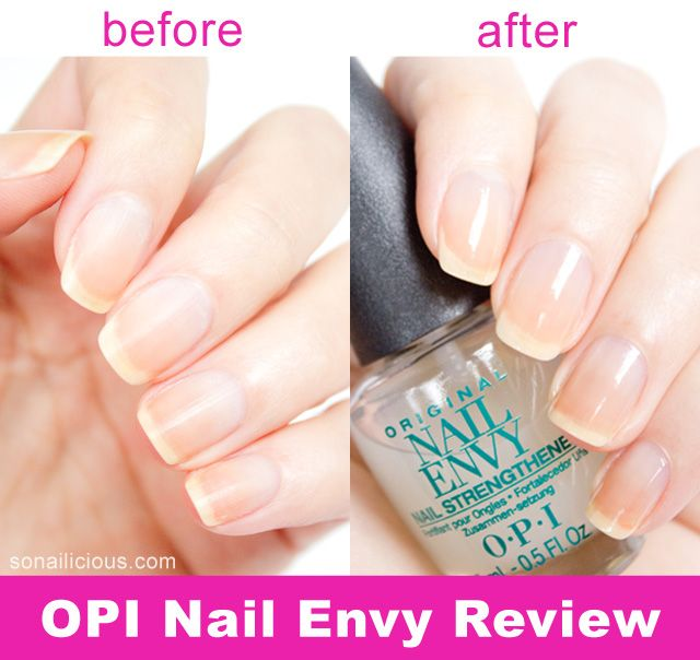 OPI Nail Envy: how to get stronger nails. Click through for more info. #opi #nails