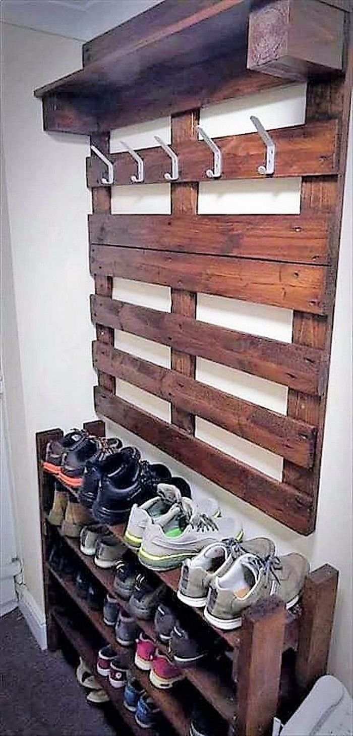 214 best pallet recycling images on pinterest pallet - Palette recyclee ...