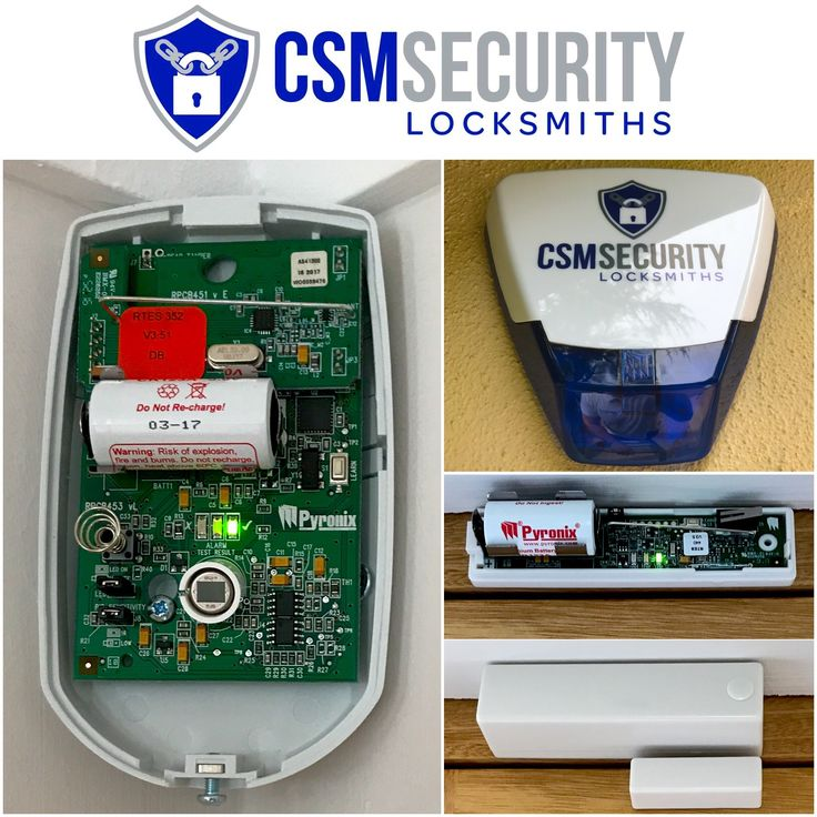 Wireless alarm system fitted for new home owners in Aspley Guise. Alarm system setup with the Pyronix Cloud to check status of system via the app. Also activate/deactivate system via app & get alerts if alarm system is triggered. #AlarmSystem #Security