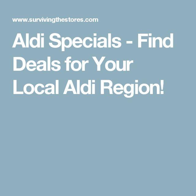 Aldi Specials - Find Deals for Your Local Aldi Region!
