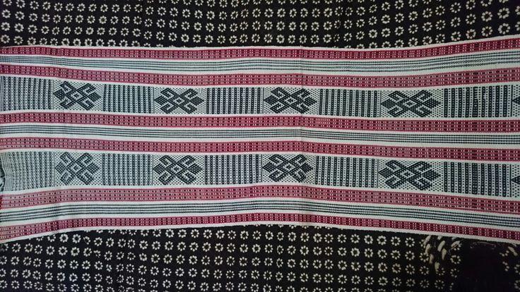 next project: batik meets tenun
