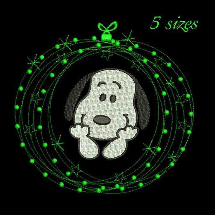 Snoopy Christmas embroidery design,machine embroidery,snoopy pattern,Snoopy gift,Snoopy face,Snoopy logo,Snoopy holidays by GretaembroideryShop on Etsy
