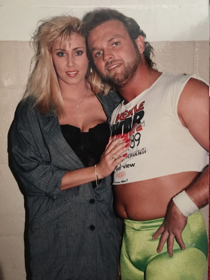 Image: Missy Hyatt and Eddie Gilbert