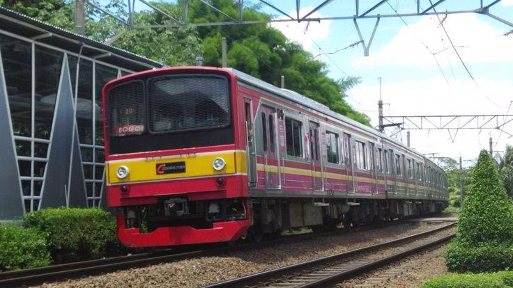 JR East 205 EMU train operated by KA Commuter Jabodetabek.
