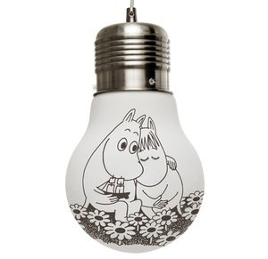 Moomin light bulb - so sweet!