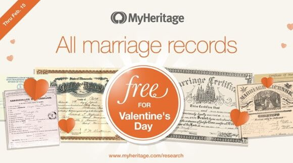 Free Access to Marriage Records from Around to World