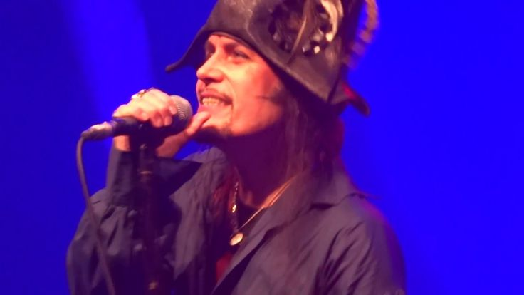 Adam Ant Live - Christian D'Or - Roundhouse 18th December, 2016 - London