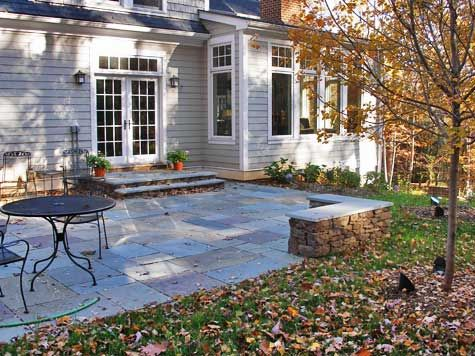 Discover Bluestone Patio Costs Per Square Foot Outdoors Pinterest And Backyard