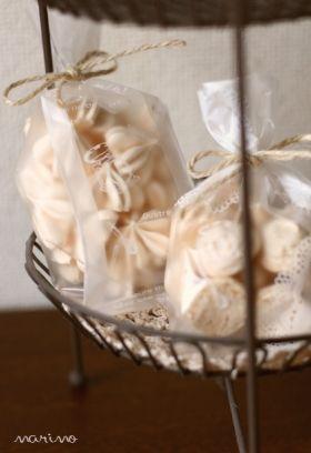 「レモン風味の焼きメレンゲ」marimo | お菓子・パンのレシピや作り方【corecle*コレクル】
