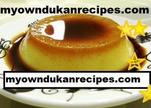 coffee custard   suitable for dukan diet ATTACK phase
