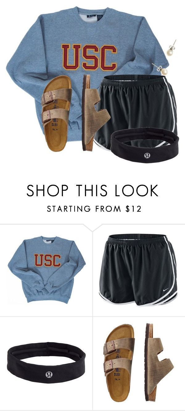 """Road trip to Orlando☀️"" by flroasburn ❤ liked on Polyvore featuring NIKE, lululemon, TravelSmith and J.Crew"