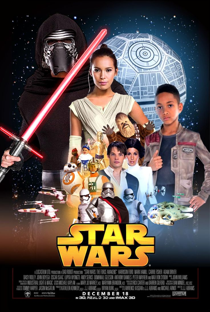 Silliest 'Force Awakens' poster stars cheap Star Wars costumes - CNET