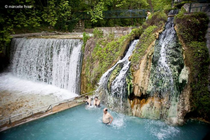 #hot_springs #waterfalls #greece