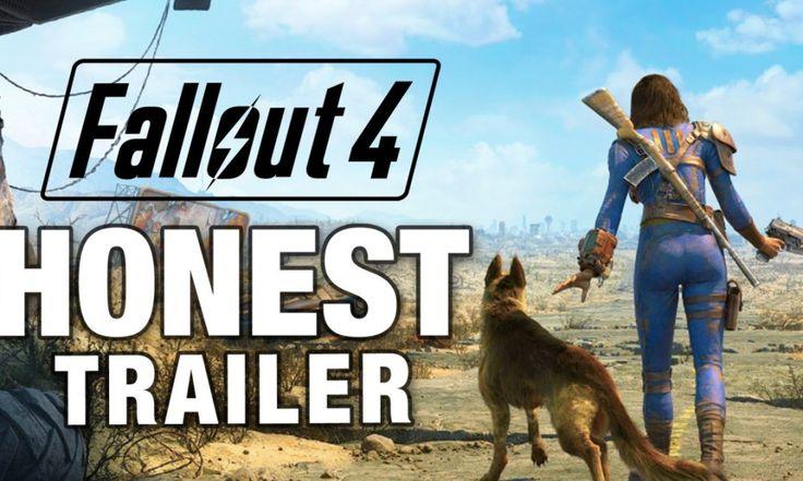 Fallout 4 – Honest Trailer - http://gamesack.org/fallout4-honesttrailer/