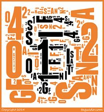 With Tagxedo you can create word clouds like Wordle and with specific shapes and colours befitting the subject.