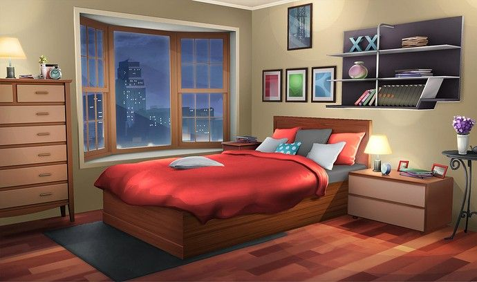 Pin By Kitty San On Anemi Bedroom Drawing Living Room