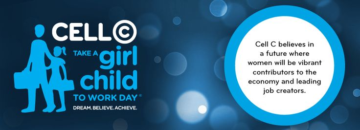 Take a Girl Child to Work Day Thursday 29 May.  The power is in your hands to give opportunities to the future of our country.  #CellCGirlChild @Gerda Kriel