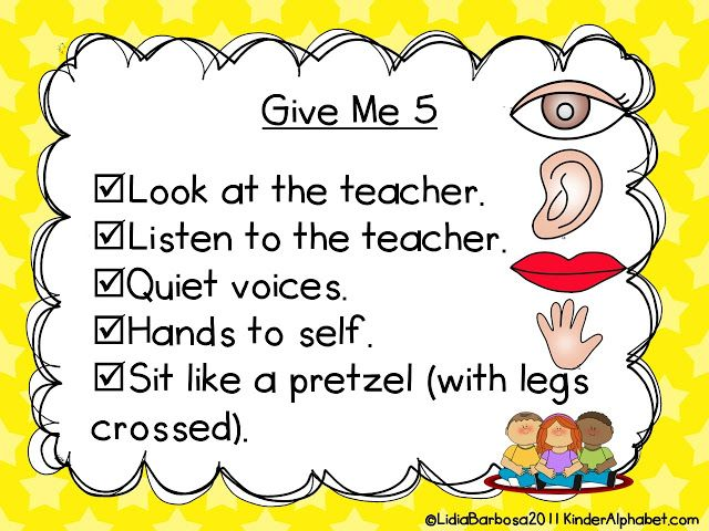 Collaborative Classroom Rules ~ Free rules and procedures charts by kinder alphabet