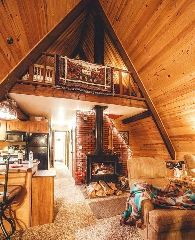 Cozy Luxury Homes Interior Gallery: Small Cabins Interiors Best Ideas About Small Cabin