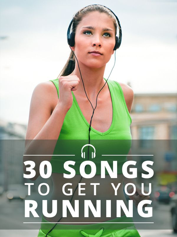 This playlist will keep you going mile after mile! 30 Songs to Get You Running. #SkinnyMs