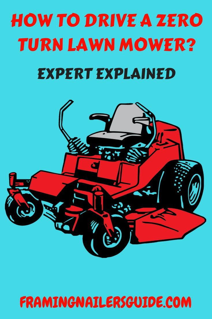 How to drive a zero turn lawn mower-Real User Explained