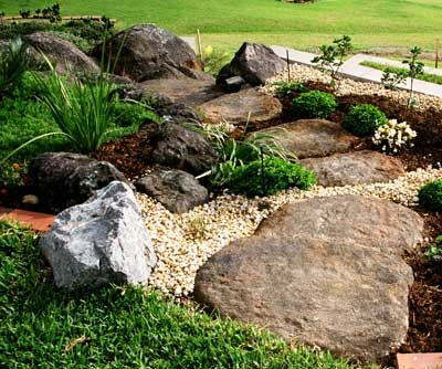 Boulder landscaping ideas landscape rock boulders and Landscaping with rocks