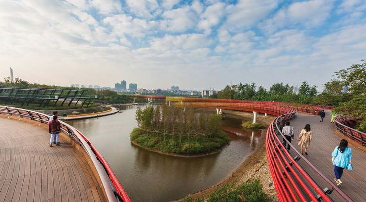 Some design inspiration from the Yanweizhou landscape project in China.