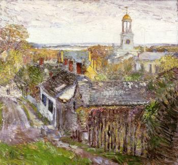 Quincy, Massachusetts - Childe Hassam - The Athenaeum