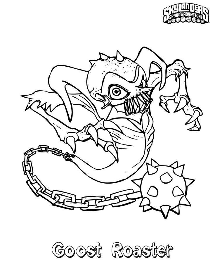 skylander giants coloring pages bouncer - photo#12