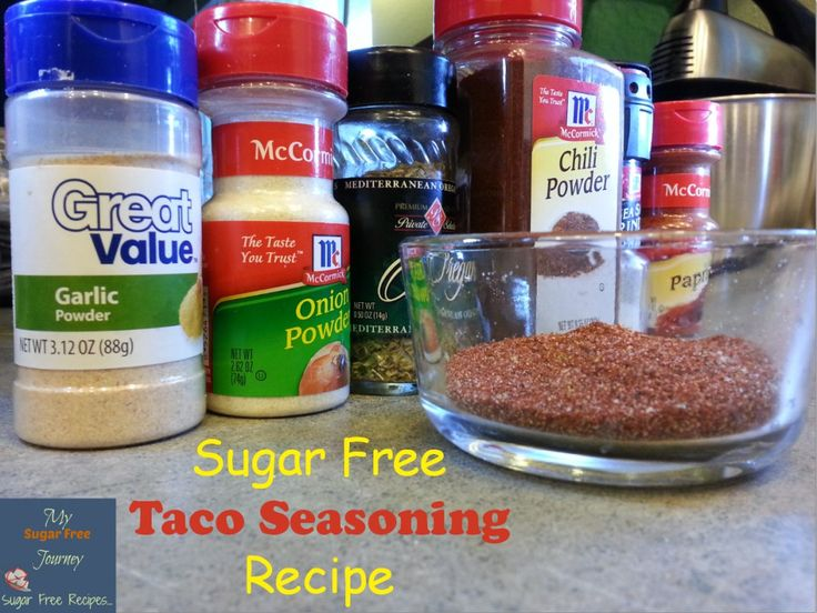 My Easy Sugar Free Taco Seasoning Recipe! http://mysugarfreejourney.com/easy-sugar-free-taco-seasoning-recipe/