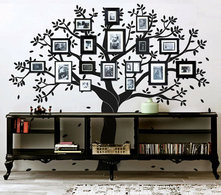 Tree Wall Art best 25+ family tree wall decor ideas only on pinterest | tree