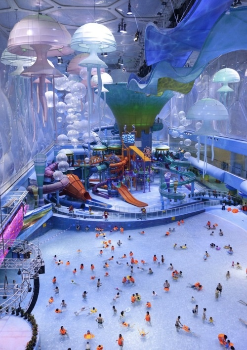 The Water Cube Water Park (Beijing, China)