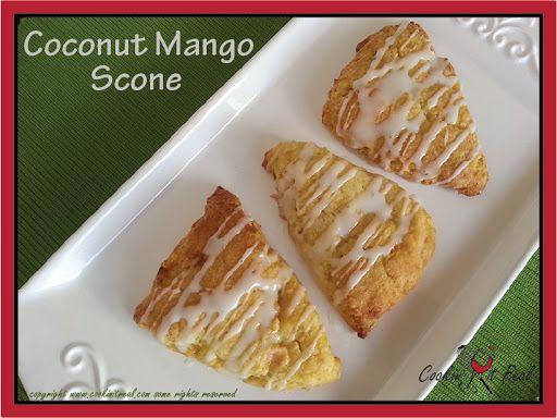 Coconut Mango Scones Recipe | Yummly