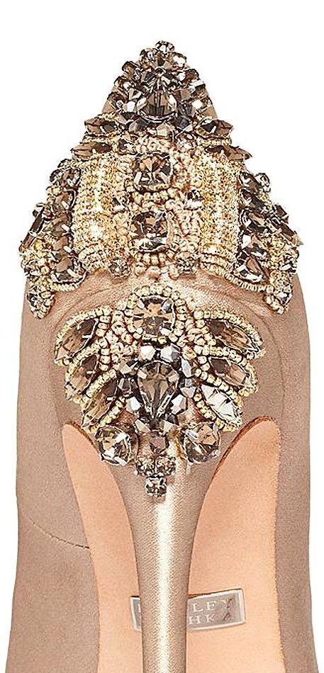 BADGLEY MISCHKA 2014 Crystal -Shoes - Sandal - Heels - Wedding - / Zapatos - Sandalias - Boda
